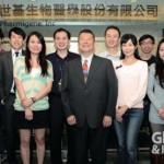 世基生醫近年積極拓展在中國事業版圖,中立者為世基總經理夏大維。
