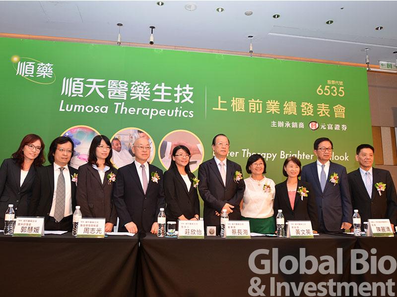 順藥董事長蔡長海表示,LT1001已向台灣TFDA提出新藥查驗登記GBI