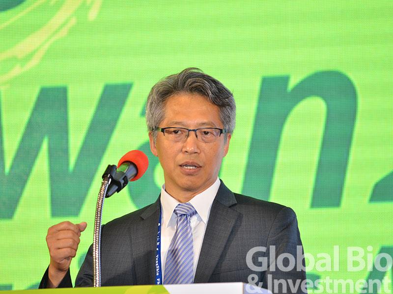 廖俊智在會中倡議開放科學(open science)的精神,以利學研單位共享研究材料、研究資訊,及智財成果。