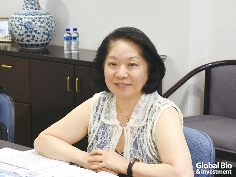 顧曼芹  展旺生技董事長