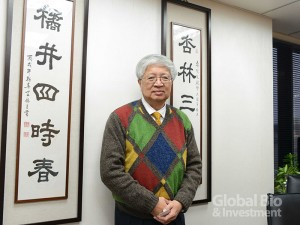國光生技總經理留忠正表示,國光有能力生產高品質疫苗供應全球。