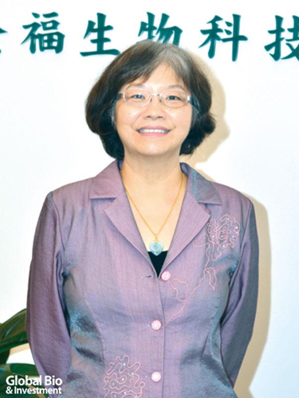 全福生技總經理簡海珊
