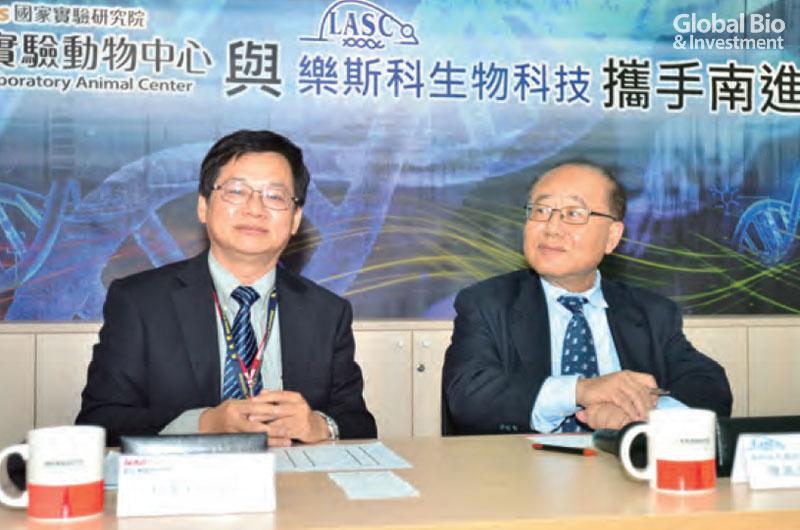 04-(圖說)國研院與樂斯科合作,將高階實驗鼠銷售至東南亞各國。(-圖-楊傑名)