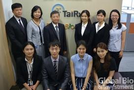 20160620台睿1(圖說)台睿生技總經理簡督憲(後排左三)與團隊合影
