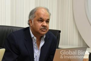合度執行長Atul Sharan擁有25年的創業經驗,對合度的團隊技術深具信心。(攝影/陳欣儀)