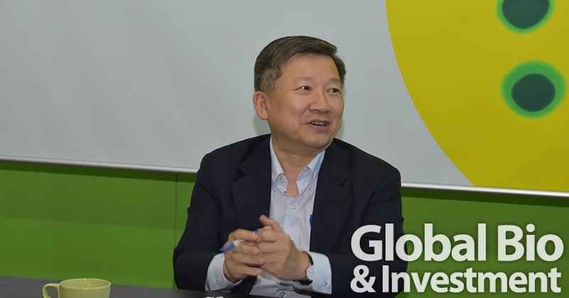 泰合生技董事長暨總經理李世仁。