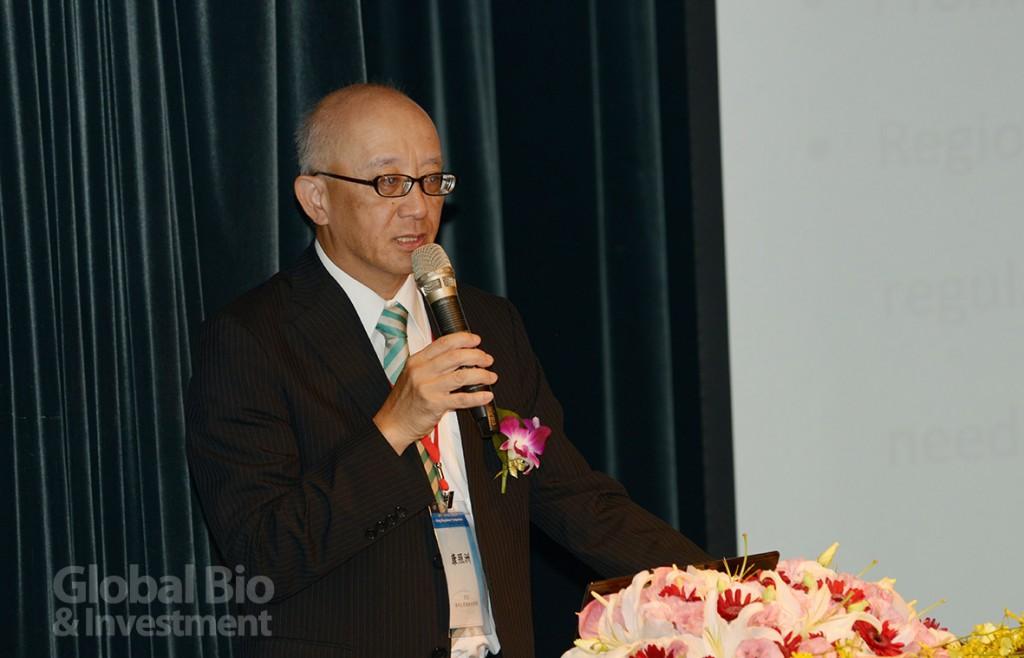 陽明大學藥物科學院院長康照洲表示,透過交流平台,期望為未來的合作打下基礎。(攝影/林嘉慶)