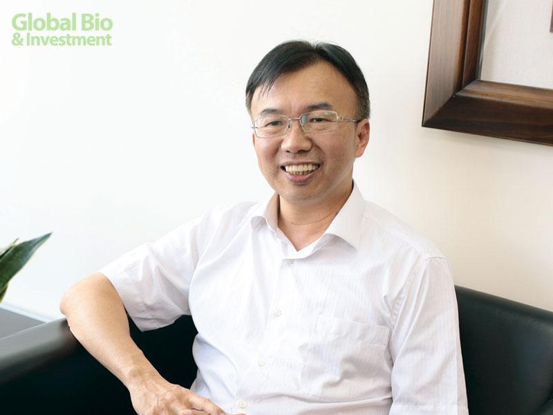 晟德糖尿病新藥CS02二期臨床試驗解盲達標 具保護胰島β細胞潛力(圖為:晟德總經理許瑞寶)