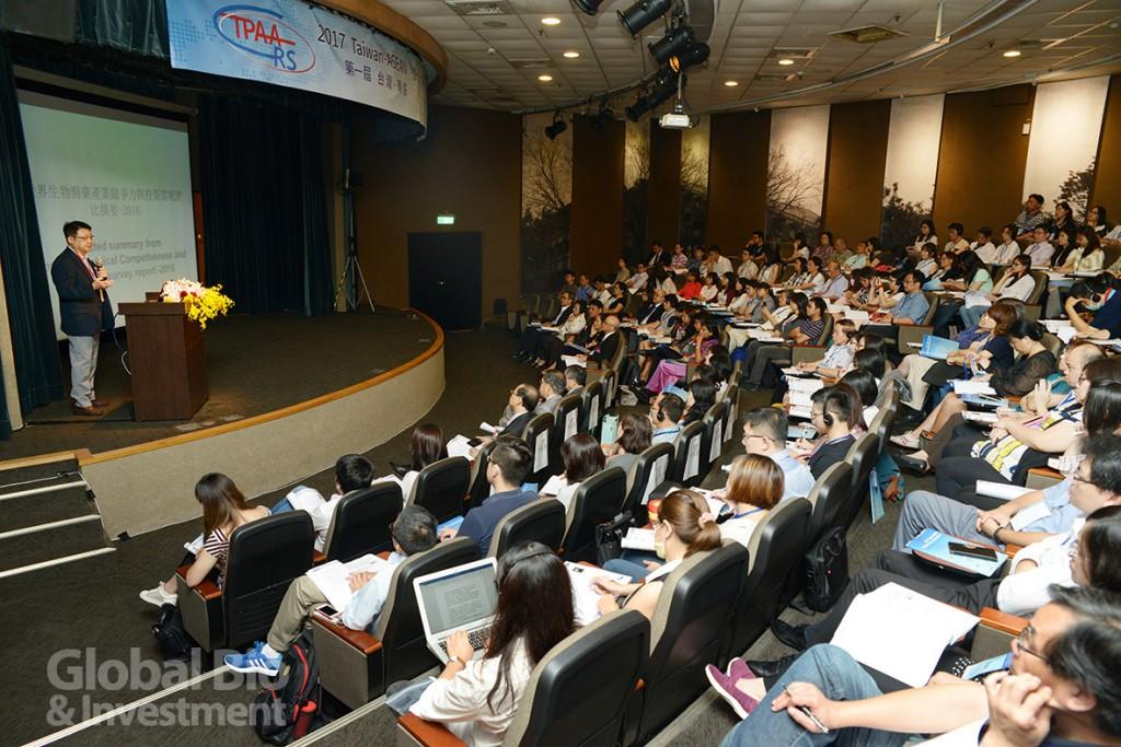 第一屆台灣-東協藥政管理研討會吸引國內藥廠代表參加,反應熱烈。(攝影/林嘉慶)