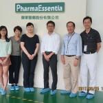 圖說 :從左三起向右依序為,日本MPN病患團體代表瀧香織、藥華藥日本分公司財務部部長