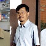 左起依序為中研院生醫所研究員羅傅倫、鄔哲源,以及中研院院士陳垣崇。