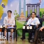 中研院客座講座吳金洌(中)主持「科技部新農業生技智慧鏈結科學園區」系列論壇。(圖/蔡立勳)