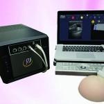 太豪生醫運用人工智慧在乳房腫瘤篩檢的手持式超音波全乳智慧掃描檢視系統。