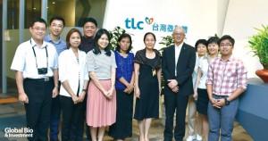 各國代表在康照洲院長、 王兆儀組長及李寶珍博士等陪同下,參訪佳生科技、台灣微脂體等生技企業。