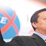 圖為港交所執行總裁李小加(取自亞太日報)