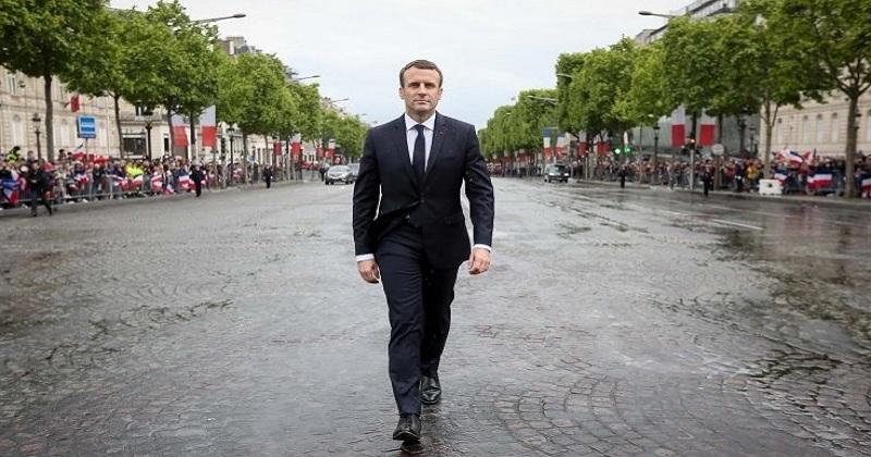 法國總統馬克宏(取自elysee.fr)