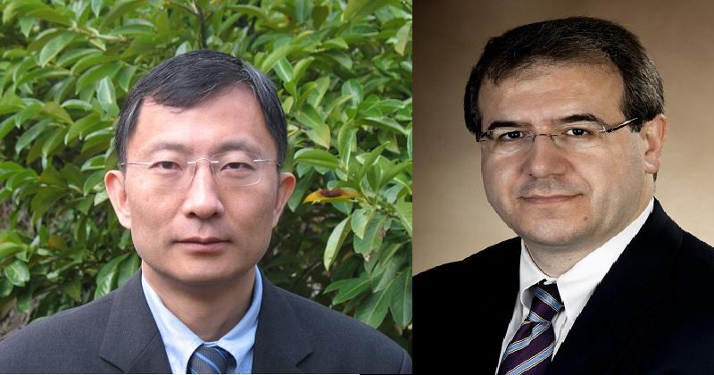 左為Huajian Gao;右為Eleftherios Mylonakis(圖片取自布朗大學)