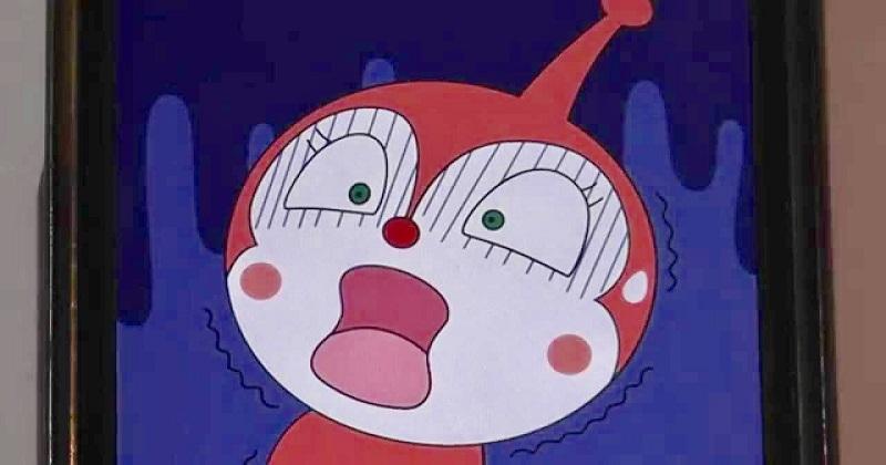 圖為日本卡通麵包超人的反派-細菌人(取自daisuki annpann)