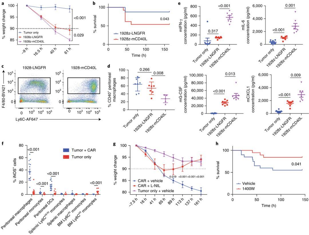 調節巨噬細胞的能影響CRS的嚴重程度 (圖片來源:Nature)