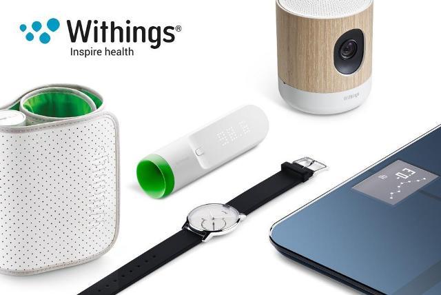 ▲Nokia購入Wuthing後產出的數位醫療系列產品。
