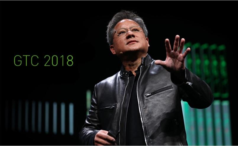 NVIDIA創辦人暨執行長黃仁勳,也將親臨GTC 2018現場,發表開場演說。(圖擷取自網路)