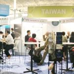 「臺北展示區」展現臺北市生技能量,呈現生技產業聚落發展藍圖。