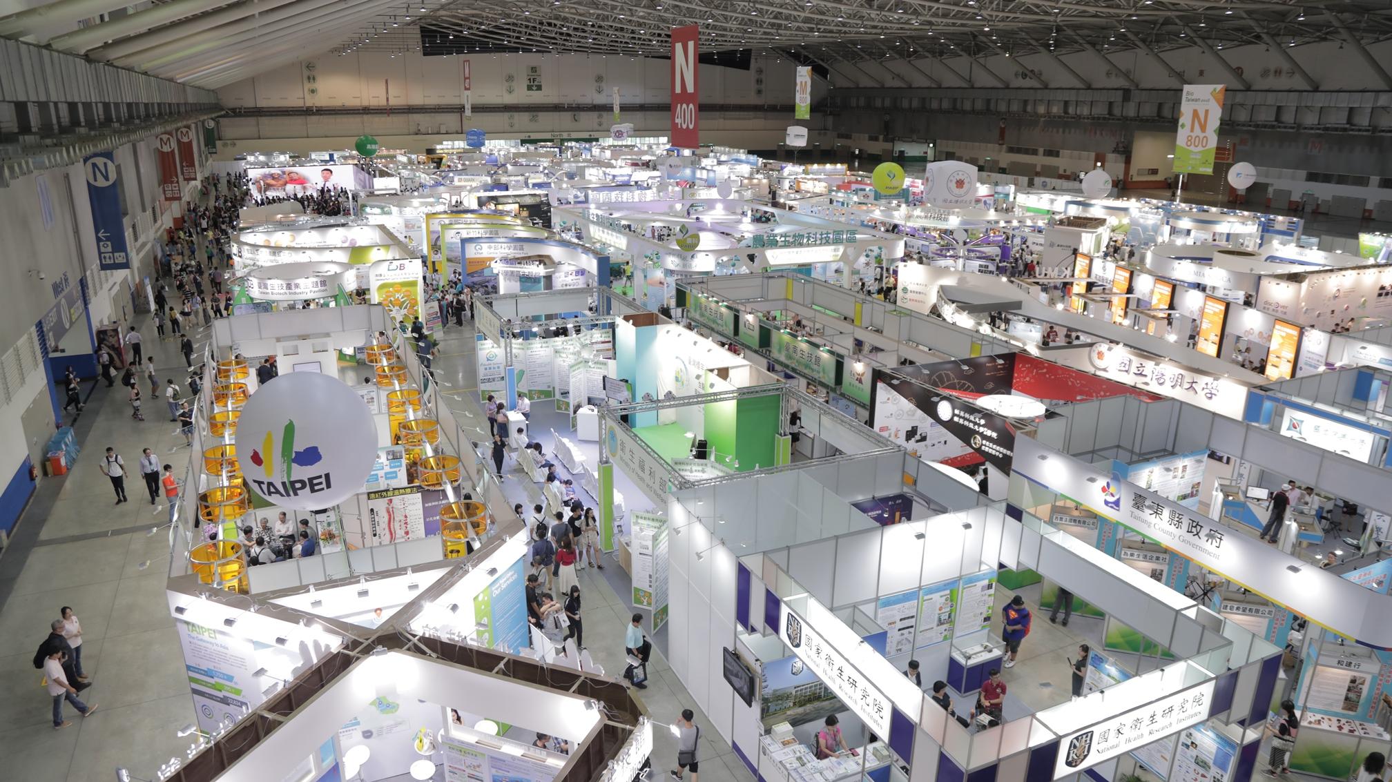 2018台灣生技月首度三大主題聯展,亞洲生技商機論壇及商機媒合參與數創新高。