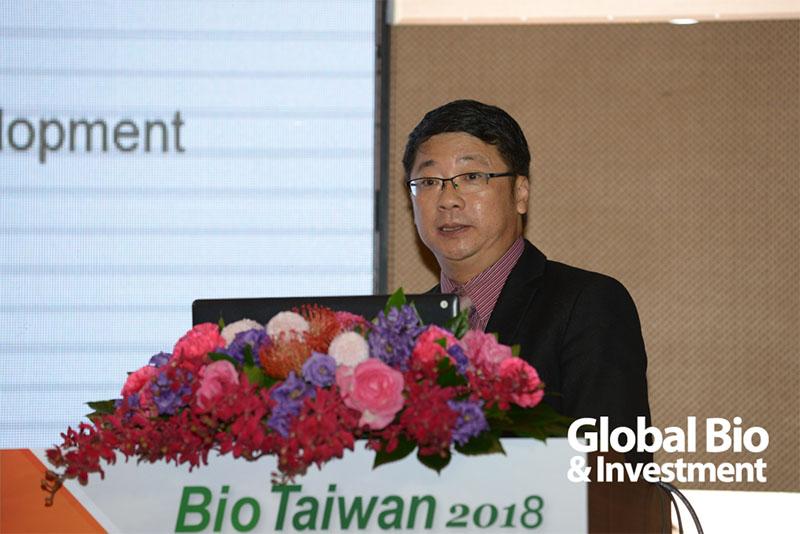 Syneos Health 執行總監 Alvin Tan。(圖片來源:環球生技攝影)
