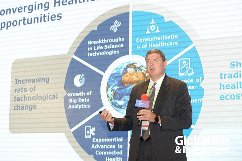 嬌生集團世界無疾病加速器部門全球負責人Ben Wiegand。(圖片來源:環球生技攝影)
