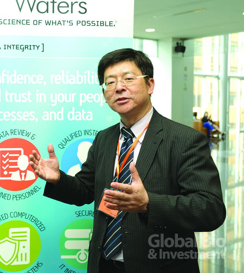 沐恩科技首席技術官明石英浩指出,資料完整性與智慧 工廠是生技製藥發展中極為重要的一環。