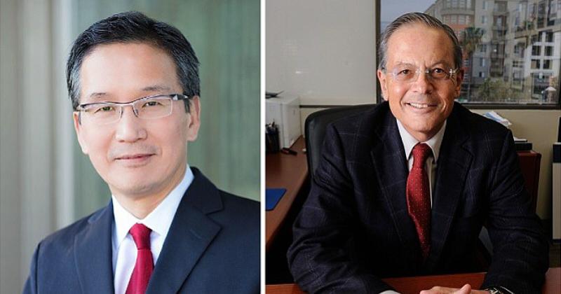 Allogene的首席執行長David Chang和主席Arie Belldegrun (圖片來源: 網路)