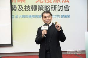 科睿唯安臺灣區總經理范永銀。(攝影:林嘉慶)