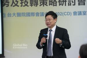生醫產業創新推動方案執行中心行政長林治華。(攝影:林嘉慶)