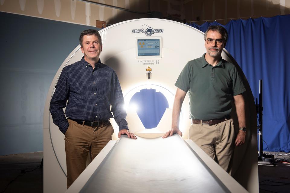 全球首款全身掃描儀 比傳統PET掃描快40倍 最快明年上線。(圖片來源:UCDAVIS)