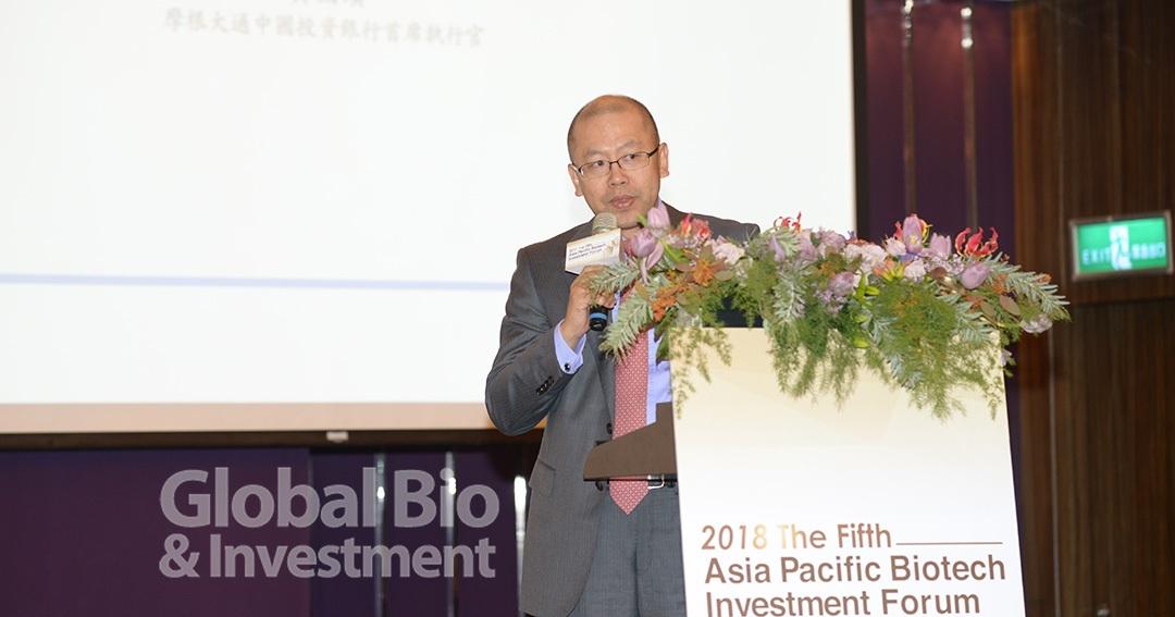 JP. Morgan 全球投資銀行部 中國CEO 黃國濱