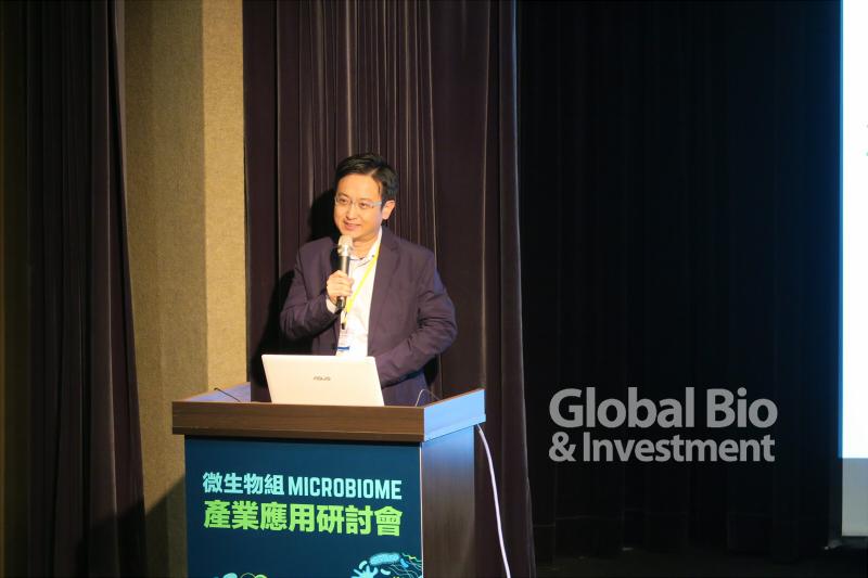 台達生命科學應用研究中心 林岳暉經理