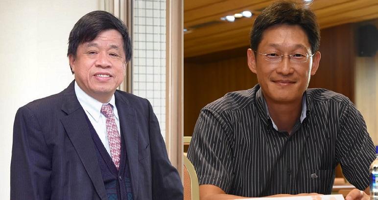 尖端、震泰生醫宣布結盟。(左為尖端董事長蘇文龍、右為震泰生醫創辦人李冬陽博士)