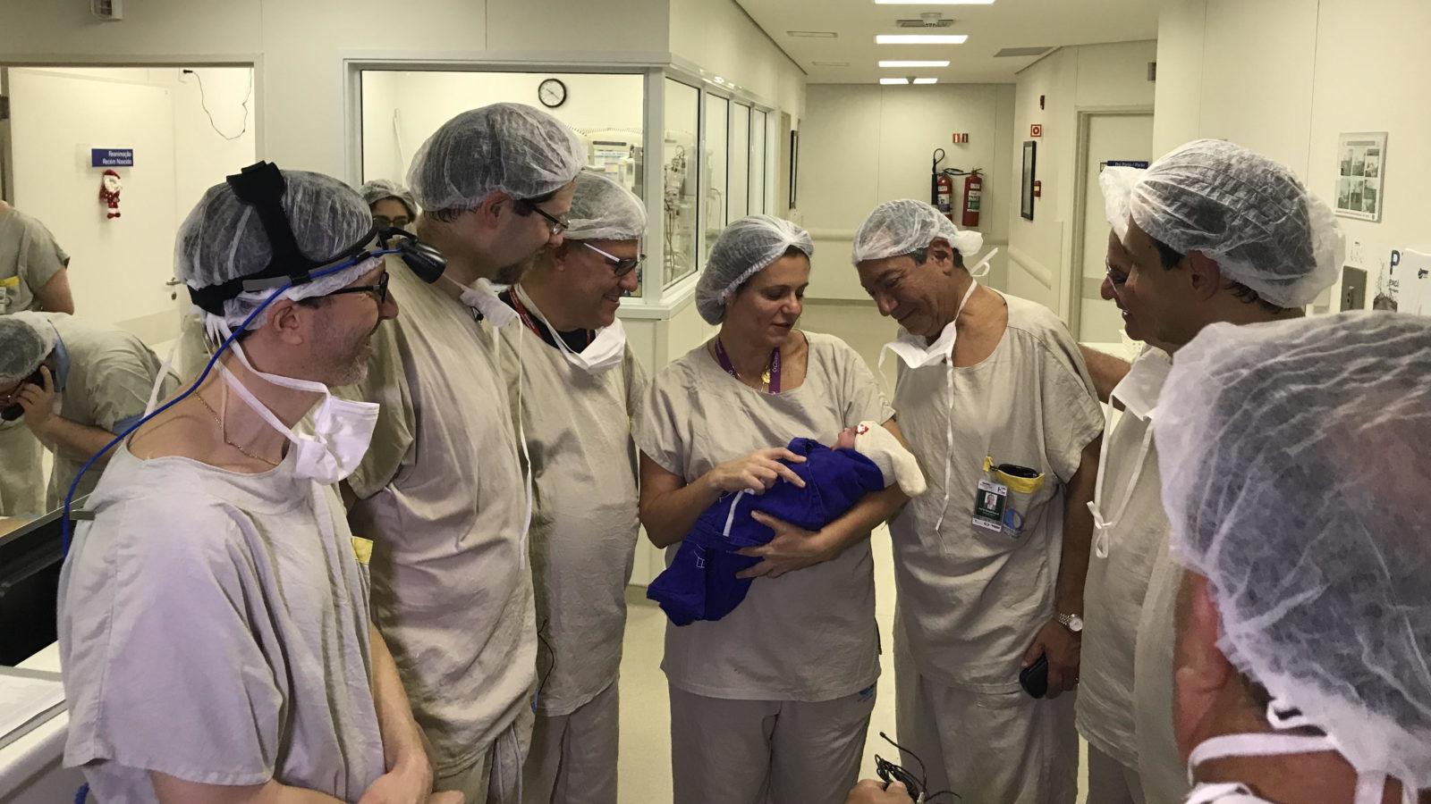 巴西University of São Paulo的醫療團隊成功完成世界首例死體子宮移植並誕下嬰兒的案例。 (圖片來源: STAT)