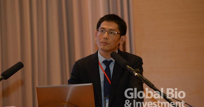南京醫科大學的崔伯塔博士(攝影/林嘉慶)