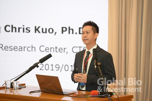 圖爾思微生物體研究中心郭育倫技術長。(攝影:林嘉慶)