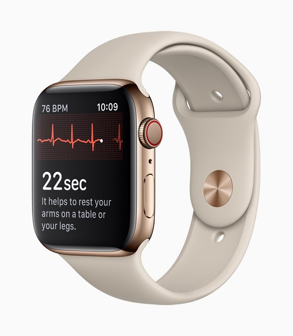 Apple、 J&J攜手 提升Apple Watch心房顫動診斷和中風預防。(圖片來源:CNBC)