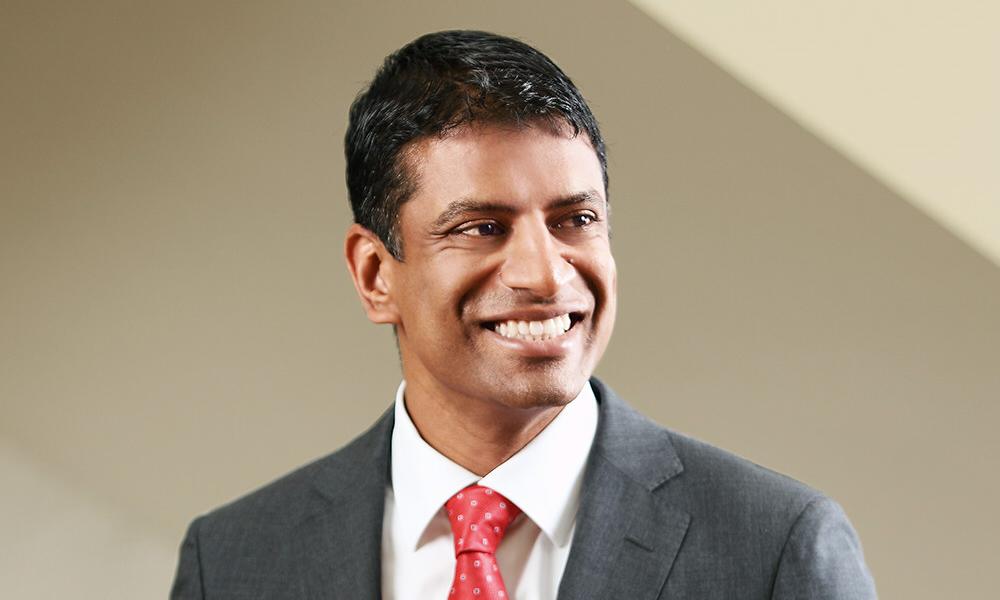 諾華CEO Vas Narasimhan (圖片來源: 網路)