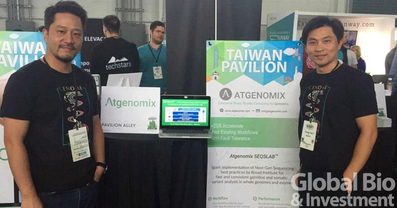 亞大基因科技共同創辦人張明台執行長(左)及蘇中才科學長(右)(圖/環球生技資料中心)