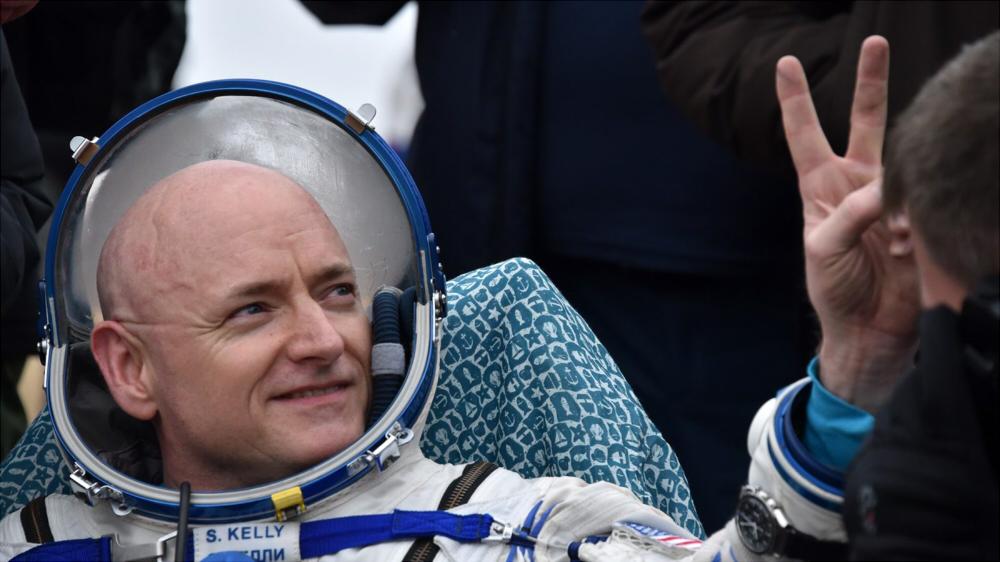 太空人Scott Kelly (圖片來源: STAT)