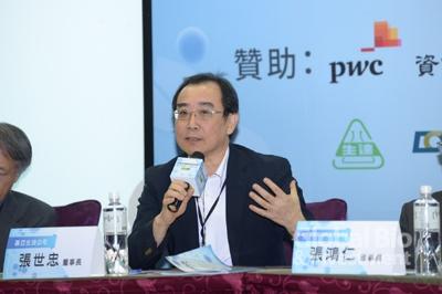 基亞生技公司張世忠董事長。(攝影:林嘉慶)