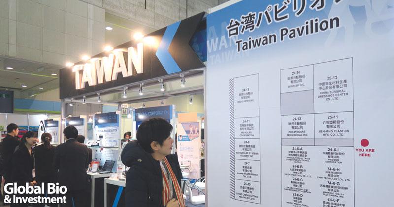 外貿協會今年組織17家廠商共組臺灣館。