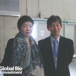 臺灣醫界聯盟基金會執行長林世嘉(圖左)和京都大學iPS細胞研究所教授高橋淳(圖右)。