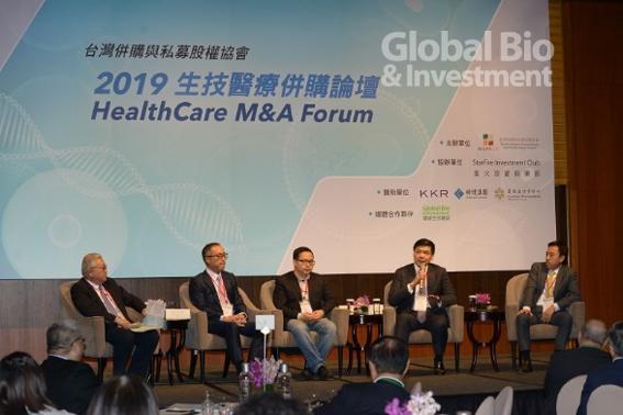 第二場圓桌論壇以「資本與技術如何重塑醫療保健」為主題進行探討。(攝影:林嘉慶)