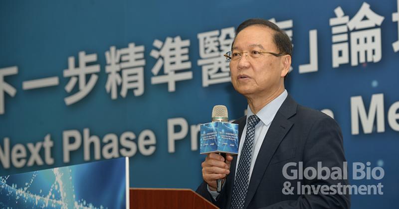 PMMD李鍾熙理事長在開場致詞中表示,目前PMMD有70家公司會員,期待未來有更多成員加入。(攝影:林嘉慶)