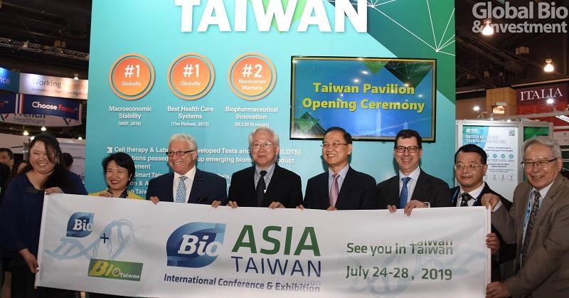 Bio Asia首度登台  葛林伍德: 將把亞洲生物科技帶向下一波高潮(攝影/李林璦)